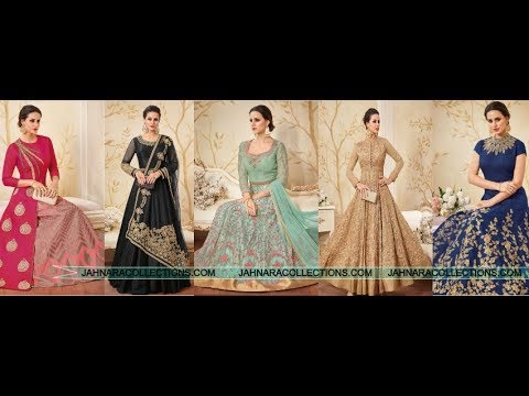 👗Long Anarkali Designs for Indian Weddings👗