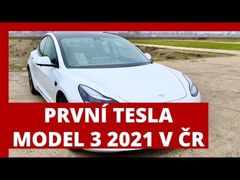 #238 PRVNI Tesla Model 3 2021 v ČR | Teslacek
