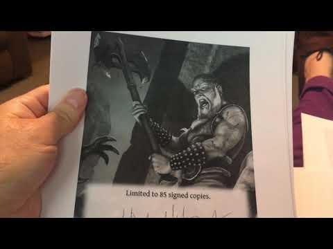 Thunderstorm Books 2019 Maelstrom Signature Sheets