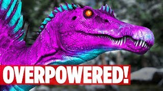 IS THE SPINO COMPLETELY BROKEN?! UNFAIR! Ark: Survival Evolved TLC Patch 2