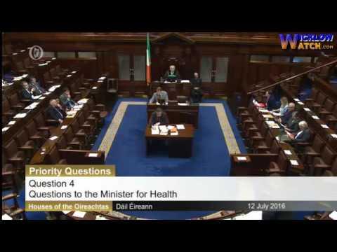 Simon Harris Questions on Health Dail 12/07/2016