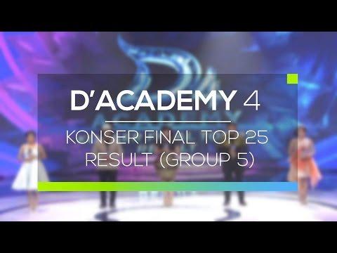 Highlight D'Academy 4  - Konser Final Top 25 Result Group 5