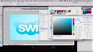 Making the Skype Logo - Photoshop CS5