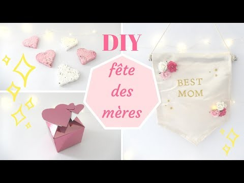 DIY [fr] : fête des mères 2018 !! facile à faire