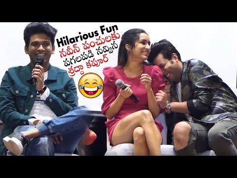 Naveen Polishetty HILARIOUS Punches | Shraddha Kapoor | Daily Culture