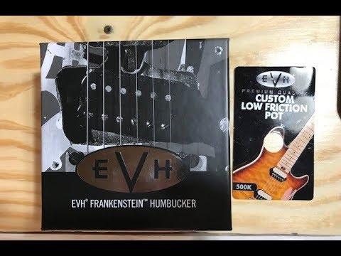 Wiring a Single 5150 EVH 500k Volume Pot To a 5150 EVH Frankenstein