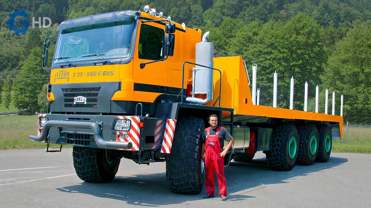 The Most Impressive and Powerful  Mercedes Benz Trucks You Have to See  ▶ 500 ton Titan Z 80