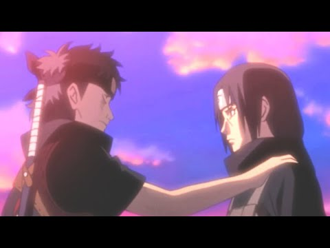 Shisui's Final Farewell to Itachi