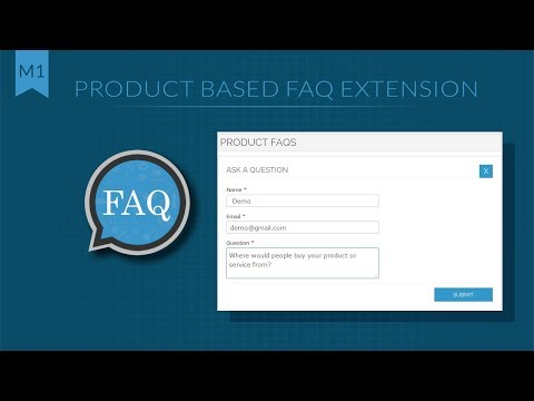Magento 1 Product FAQs Extension | Product Wise Question Answer - SetuBridge