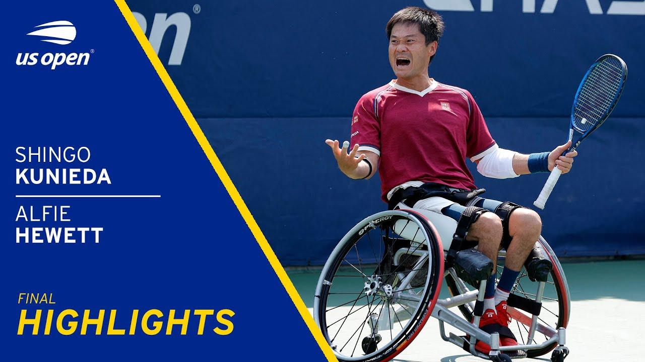 Wheelchair Men's Final | Shingo Kunieda vs Alfie Hewett Highlights | 2021 US Open