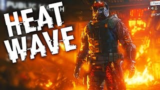 Black Ops 3 ::  INSANE GAME WITH HEAT WAVE  ::  THIS SPECIALIST IS SICK!