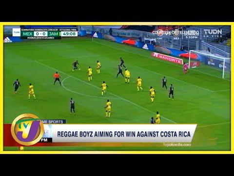 Reggae Boyz Aiming for Win Against Costa Rica - Sept 8 2021