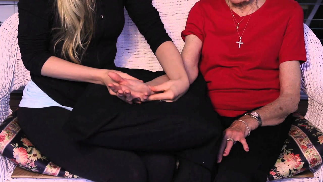 how to give a hand massage youtube
