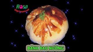 Cách làm Bánh Bao Nướng hột vịt muối - vỏ giòn lột da