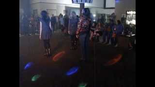 Thriller dance at the Twilight Breaking Dawn Part 2 party