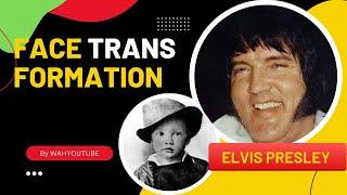 Elvis Presley - Face Transformation | #wahyoutube