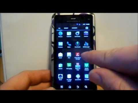 How to install Minimoto rom on the Droid 3