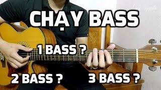 Chạy Bass Trong Guitar| Một Số Cách Chạy Bass Trên Các Nhịp Thường Gặp| Ứng Dụng Thực Hành Chạy Bass