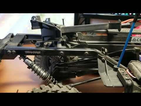 How to change the Traxxas TRX4 wheelbase.