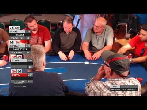 Windy City Poker Live May 27th, 2017 $1/$2 NL Holdem Part 2 of 3