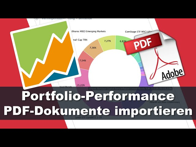 PDF Bankdokumente importieren - Portfolio Performance Tutorial #4