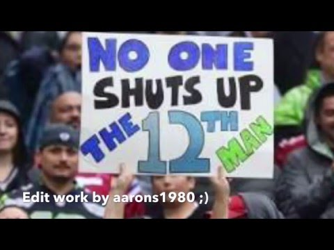The 12th man goes football commentary