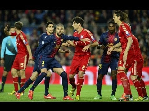 05 01 2013 Fc Bayern Munich Vs Fc Barcelona Uefa Champions League Fifa 13 Highlights Youtube