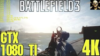 Battlefield 3 Multiplayer 4K UltraHD Gtx 1080 TI Fps Performance Ultra!!