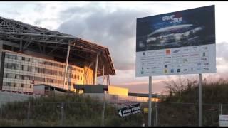 Gerland, Grand Stade : le pélerinage
