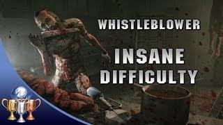 Outlast Whistleblower Insane Difficulty Walkthrough Speedrun w/ COMMENTARY - Bowelwhistler DLC