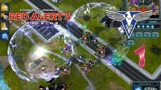Red Alert 3 Uprising Skirmish #1 (Allied) - เข้าสู่ภาคใหม่ที่โหดกว่าเดิม