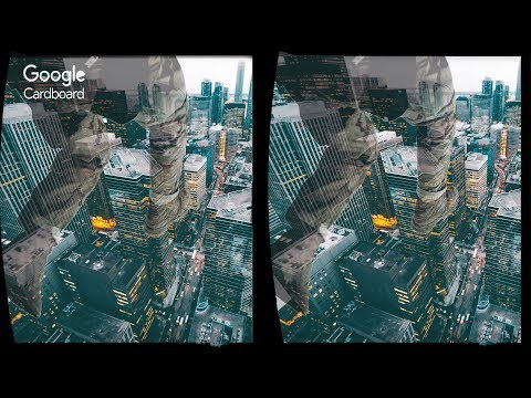 3D Falling Out Of The Building + Extra - VR Virtual Reality Vídeo Google Cardboard VR Box