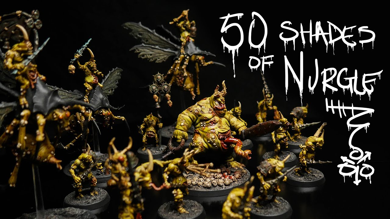 Can I actually paint my Warhammer Army? | Nurgle | Death Guard