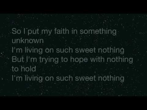 Calvin Harris ft. Florence Welch- Sweet Nothing LYRICS