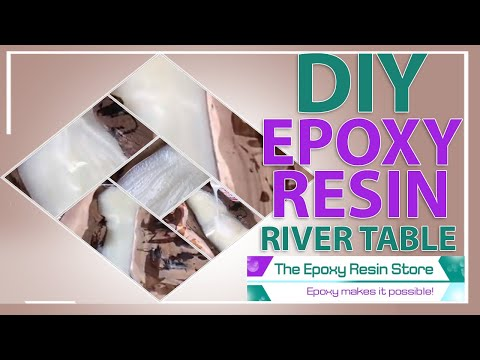 DIY Epoxy Resin River Table Pouring ⭐ Happy Customer | The Epoxy Resin Store