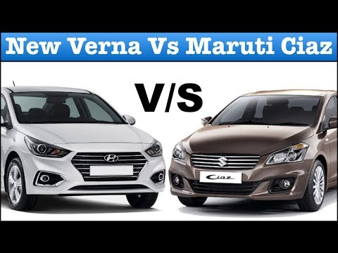 New Verna 2017 Vs Maruti Ciaz Full Comparison