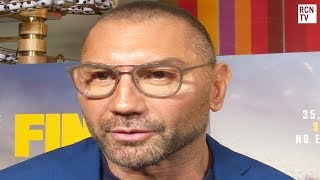Dave Bautista Interview Final Score & Guardians Of the Galaxy Future