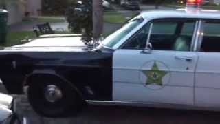 Mayberry RFD police car