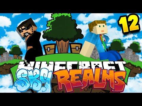 Minecraft: SKYREALMS CHALLENGE | MOB SPAWNER CHALLENGE!! [12]