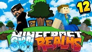 Minecraft: SKYREALMS CHALLENGE   MOB SPAWNER CHALLENGE!! [12]