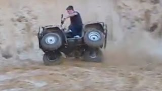 ATV Quad Bike Off road Hill Climb Mud Sand Fails Compilation