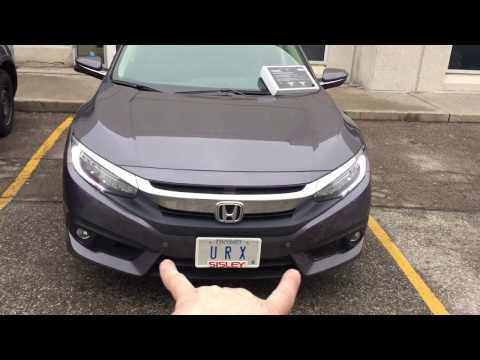 2017 Honda Civic | Front and Rear Parking Sensor Kit