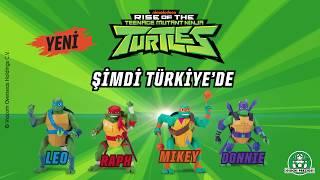 Ninja Kaplumbağalar Şimdi Türkiye'de!
