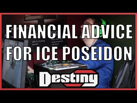 Financial advice for Ice Poseidon