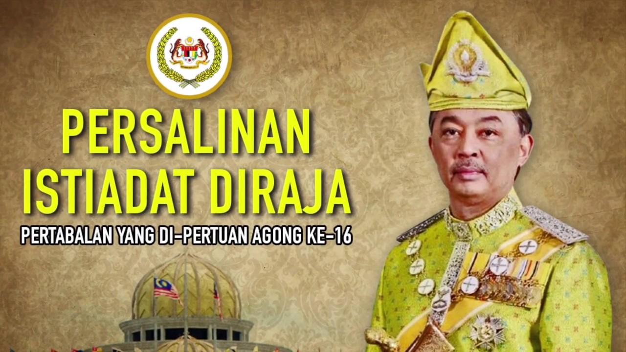 Segak Bergaya Istiadat Pertabalan Ydp Agong Sultan Abdullah Yang Ditunggu Tunggu Youtube