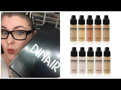 Dinair Airbrush System Unboxing! *** Waste of Money!!