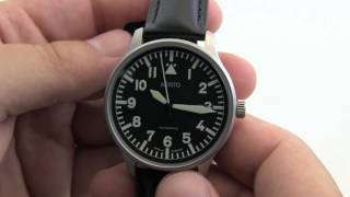 Aristo German Flieger ETA Automatic Pilot Watch 3H114