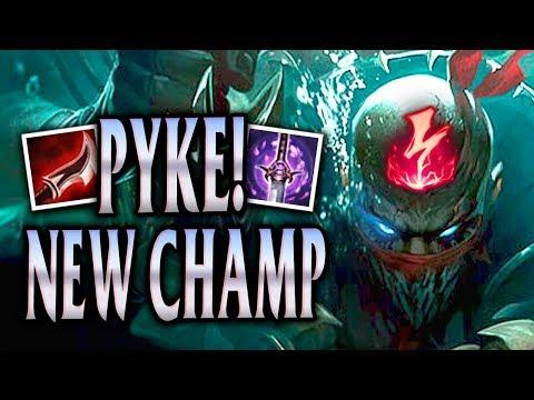 NEW CHAMPION PYKE! BROKEN PENTAKILL RAGE! - League of Legends S8 thumbnail