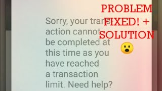 Reached Transaction Limit Roblox Preuzmi