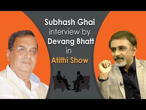ShowMan Subhash Ghai  | Movie Director | Exclusive Interview with Devang Bhatt